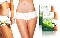 Organic Detox Belly Wraps with Green Tea (5 or 10 pack)