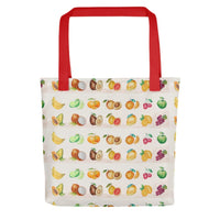 Fruity Designer Tote bag Exclusive Designs Made On Demand