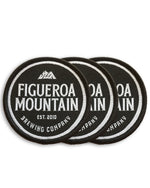 Figueroa Mountain - Round Patch Pack - Black