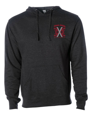 Figueroa Mountain - 10th Anniversary Hoodie (Pre-Sale) - Charcoal Heather
