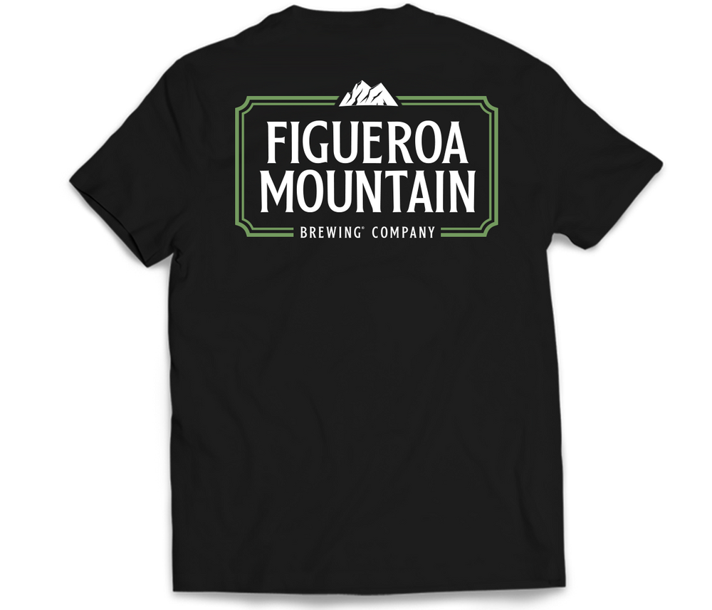 Load image into Gallery viewer, Figueroa Mountain - Frame Tee - Black