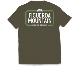 Figueroa Mountain - Frame Tee - Army Green