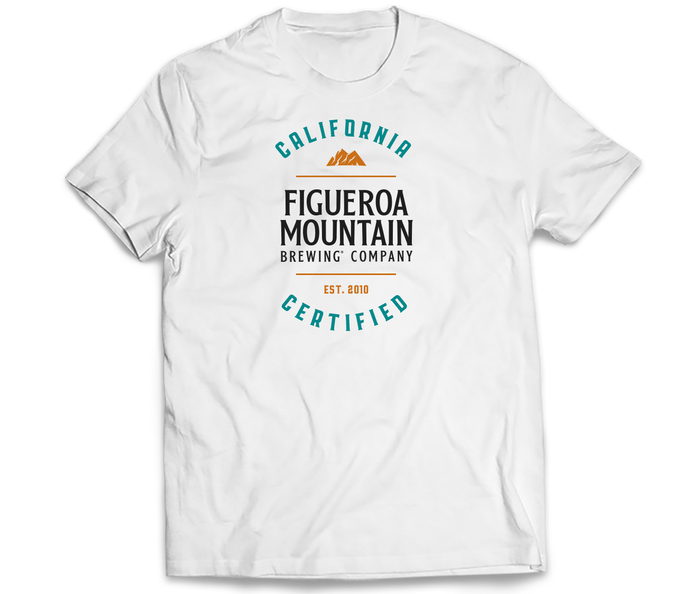 Figueroa Mountain - Cali Certified Tee - White