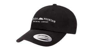 Load image into Gallery viewer, Figueroa Mountain - Arch Dad Hat - Black