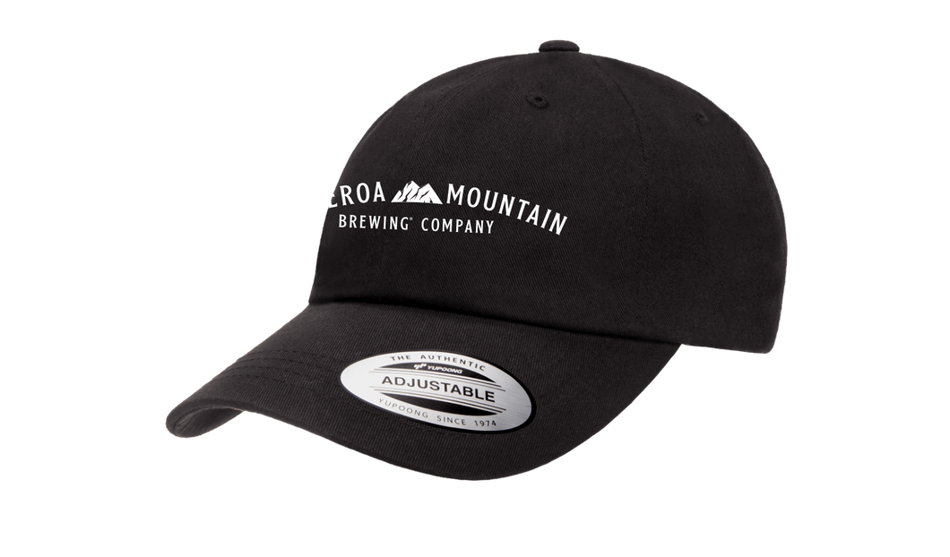 Figueroa Mountain - Arch Dad Hat - Black