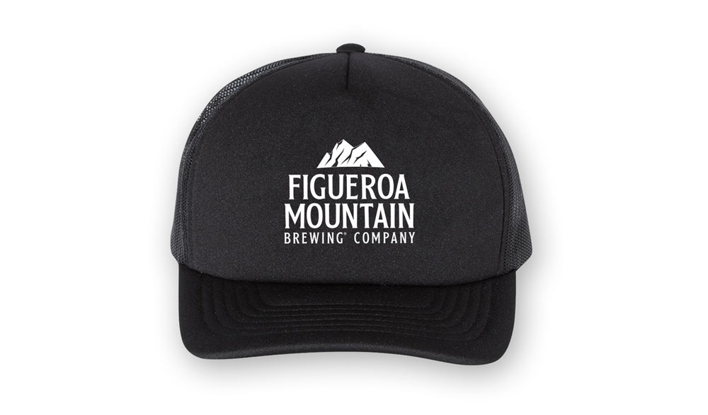 Figueroa Mountain - Foam Hat - Black