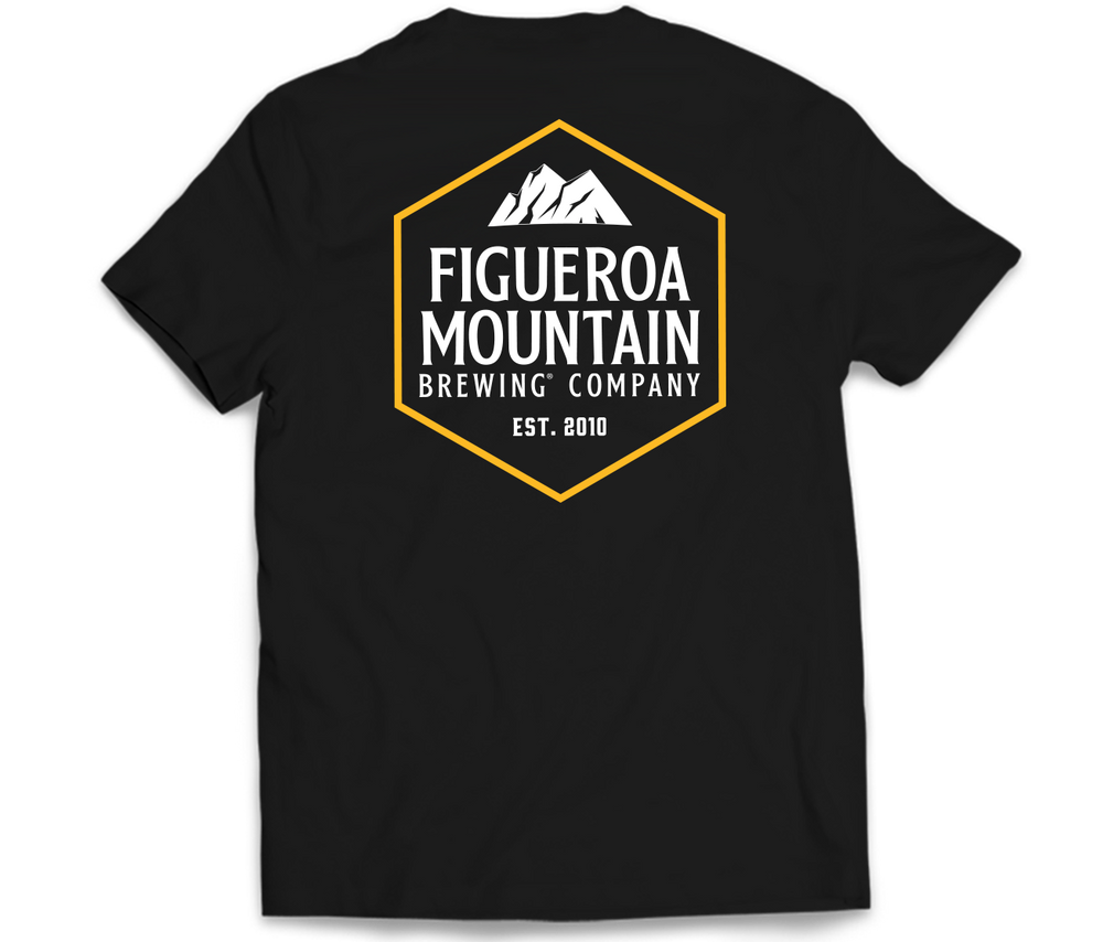 Load image into Gallery viewer, Figueroa Mountain - Hex Short Sleeve Tee - Black