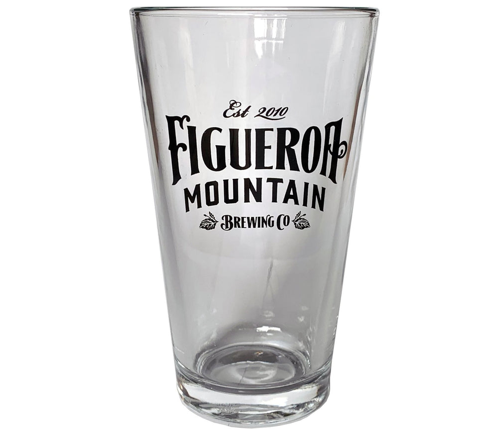 Figueroa Mountain Pint Glass