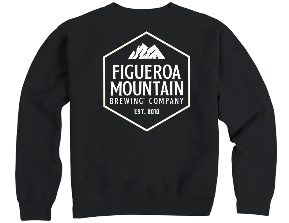 Load image into Gallery viewer, Figueroa Mountain - Hex Sweatshirt - Black