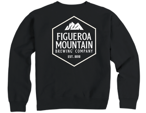 Figueroa Mountain - Hex Sweatshirt - Black