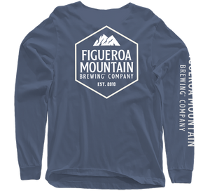 Figueroa Mountain - Hex Long Sleeve - Indigo