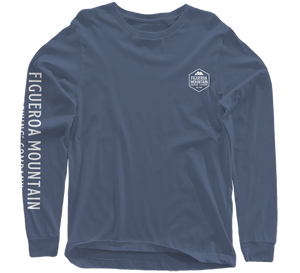 Load image into Gallery viewer, Figueroa Mountain - Hex Long Sleeve - Indigo