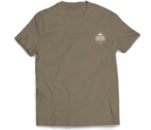 Figueroa Mountain - Hex Short Sleeve Tee - Olive