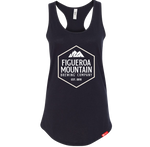 Figueroa Mountain - Hex Women's Racerback Tank - Black