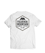 Load image into Gallery viewer, Figueroa Mountain - Hex Tee - White