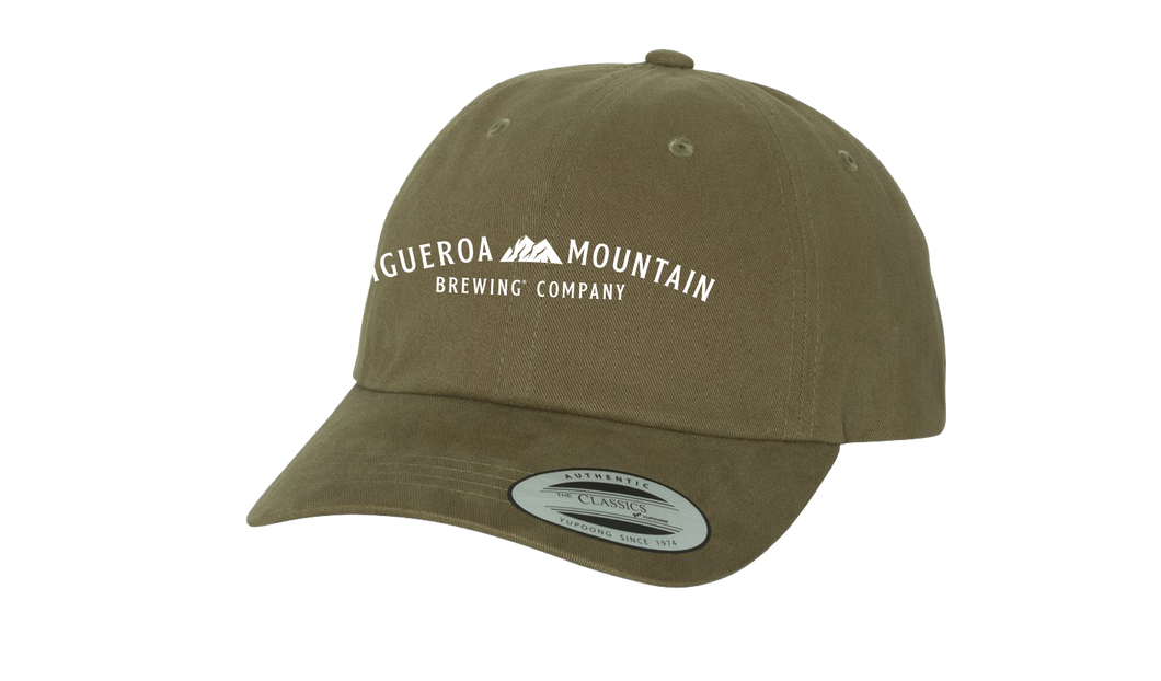 Figueroa Mountain - Arch Dad Hat - Loden