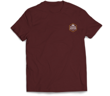 Load image into Gallery viewer, Figueroa Mountain - Hex Short Sleeve Tee - Maroon