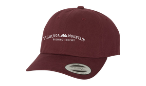 Figueroa Mountain - Arch Dad Hat - Maroon