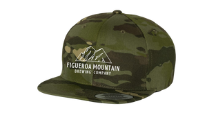 Load image into Gallery viewer, Figueroa Mountain - Mountain Snaback Hat - Forest Camo