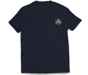Load image into Gallery viewer, Figueroa Mountain - Hex Short Sleeve Tee - Navy