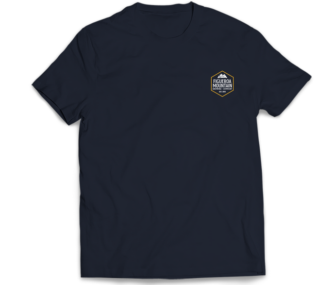 Figueroa Mountain - Hex Short Sleeve Tee - Navy
