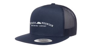 Figueroa Mountain - Arch Trucker Hat - Navy