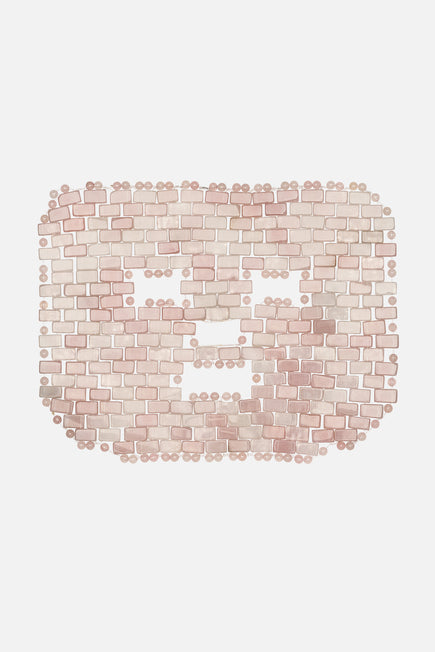 Rose Quartz Face Mask by Angela Caglia in N/a 1