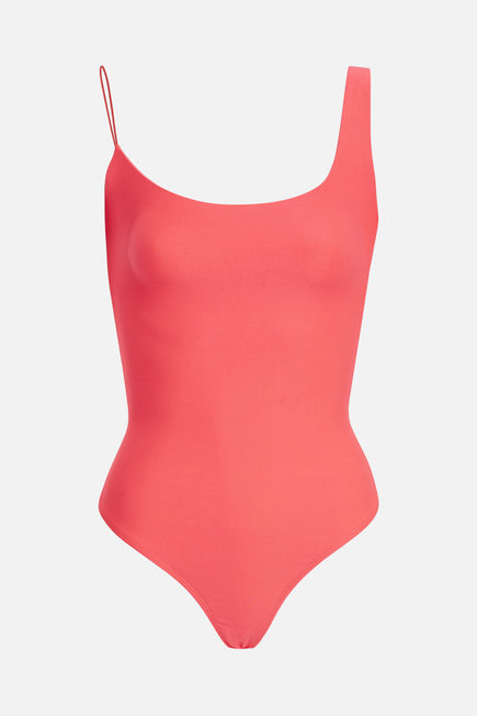 Gracie Bodysuit by BANDIER x Alix NYC in Neon Pink 5
