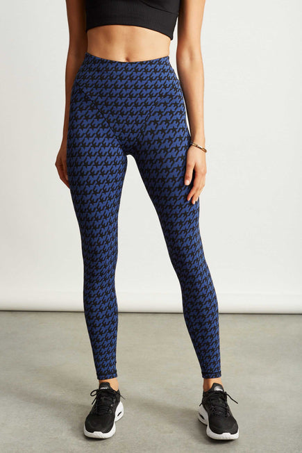 French Cut Legging by Adam Selman Sport in Royal 1