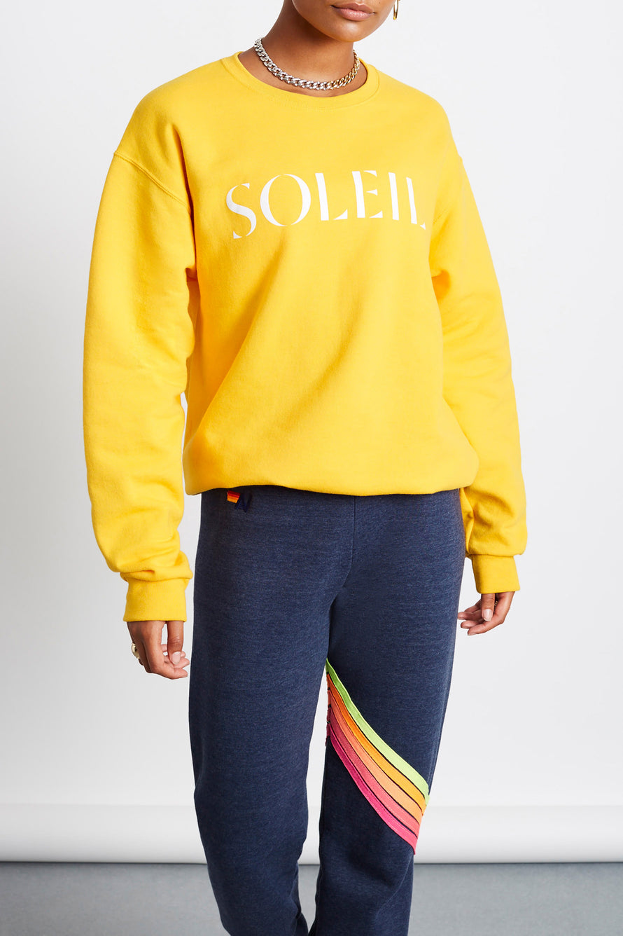 Soleil Crew by Paradised in Gold/white 1