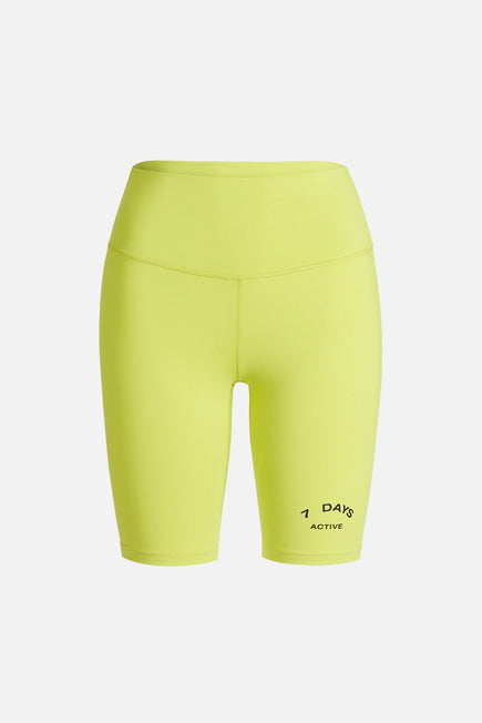 Bike Shorts by 7 Days in Lime 2