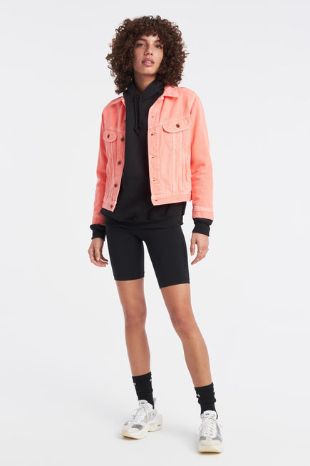 Marti Ranger Jacket by NSF in Pigment Neon 2