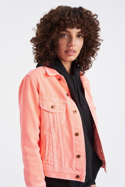 Marti Ranger Jacket by NSF in Pigment Neon 1