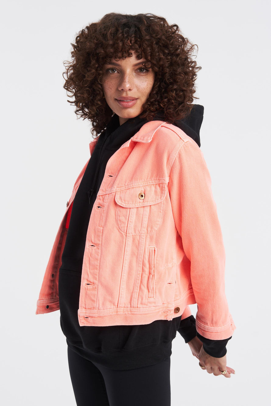 Marti Ranger Jacket by NSF in Pigment Neon 4