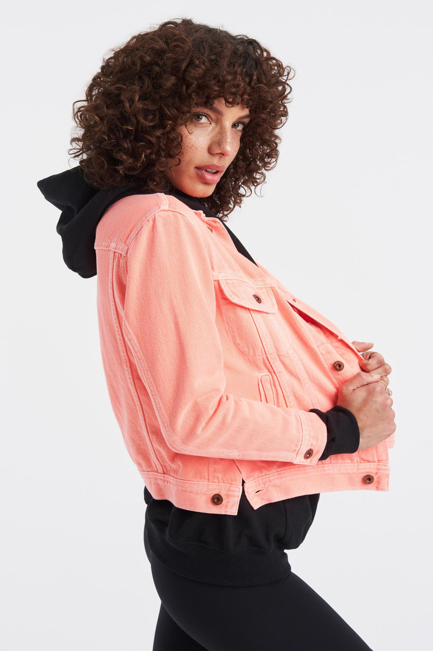 Marti Ranger Jacket by NSF in Pigment Neon 6