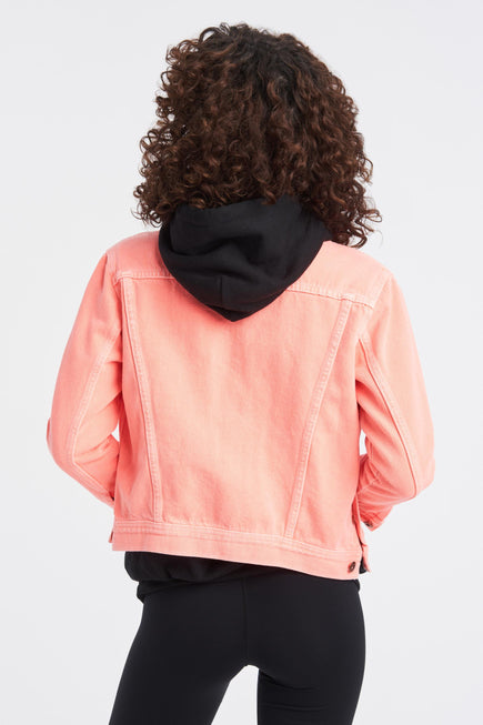 Marti Ranger Jacket by NSF in Pigment Neon 5