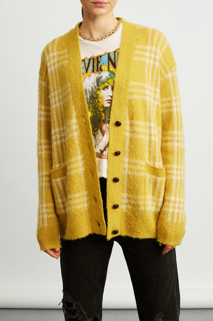 90s Oversized Cardigan by RE/DONE in Margold 1