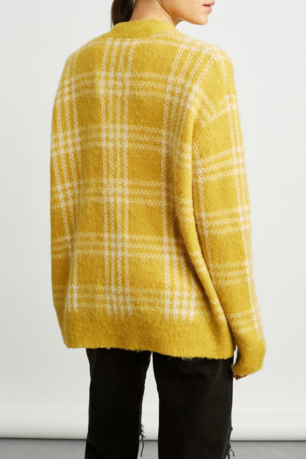 90s Oversized Cardigan by RE/DONE in Margold 5
