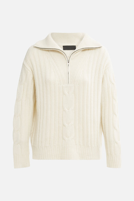 Angela Sweater by Nili Lotan in Ivory 5