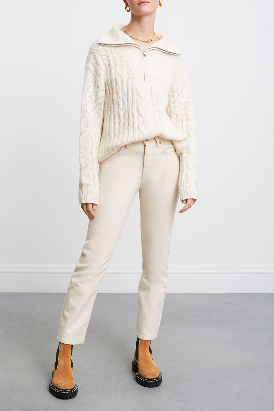 Angela Sweater by Nili Lotan in Ivory 1