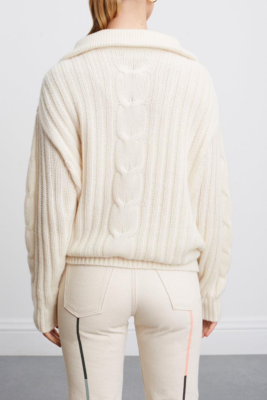 Angela Sweater by Nili Lotan in Ivory 3