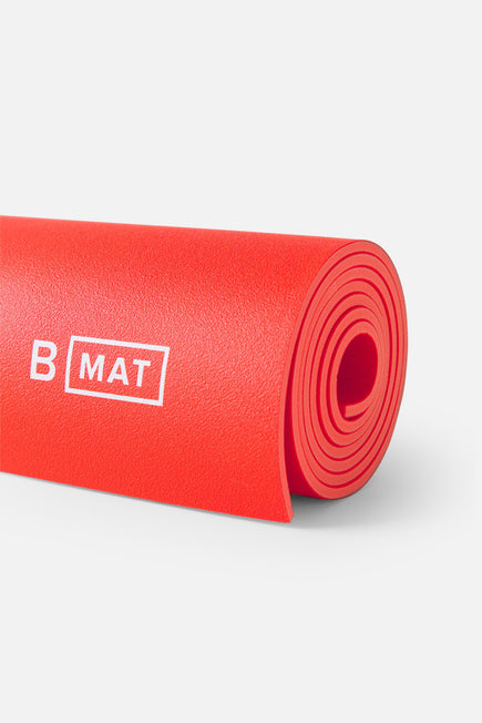 B Mat Strong by B Yoga in Sunrise Red 2