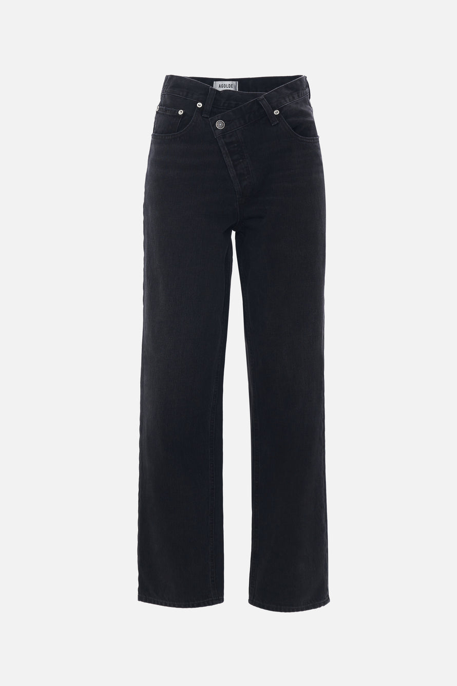 Criss Cross Upsized Jean by AGOLDE in Savage 5