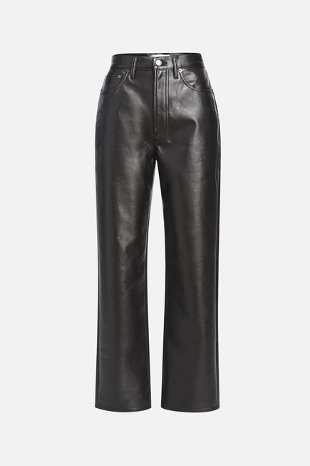 Recycled Leather 90s Pinch Waist by AGOLDE in Detox 6