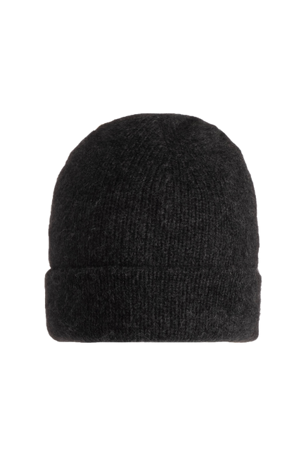 Double Layer Beanie by Naadam in Smoke 1