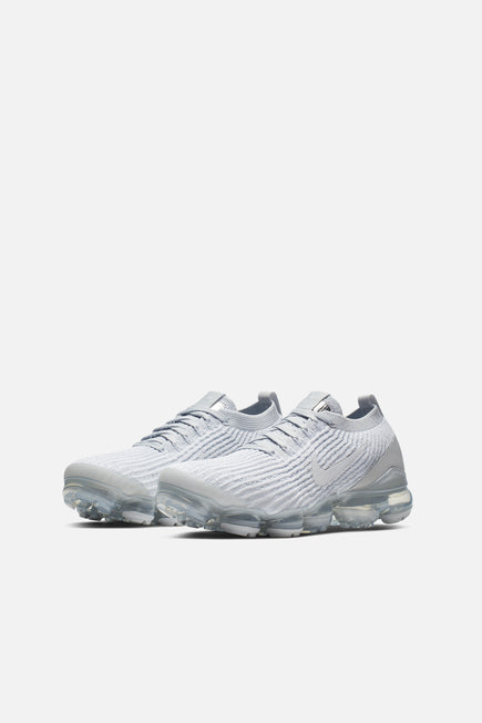 Air Vapormax Flyknit 3 by Nike in White/white-pure Platinum 3