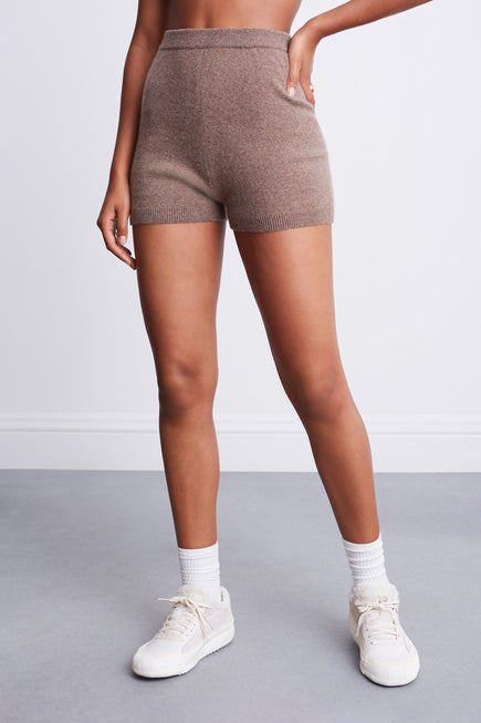 Snug Short by BANDIER x Brodie Cashmere in Natural Brown 4