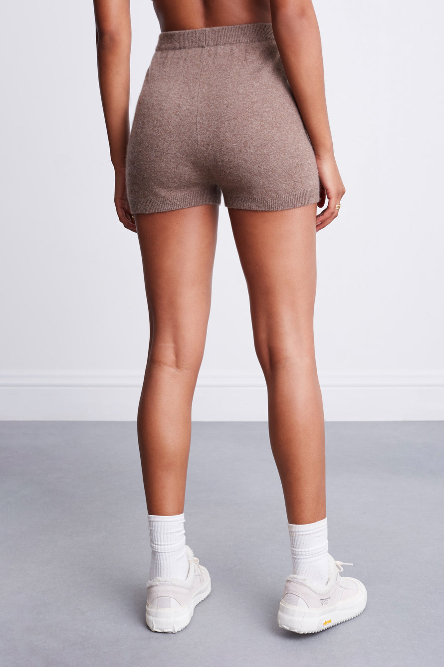 Snug Short by BANDIER x Brodie Cashmere in Natural Brown 6