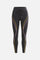 High Rise Legging W/Drawstring by All Access in Black W/multi Flatlock 5