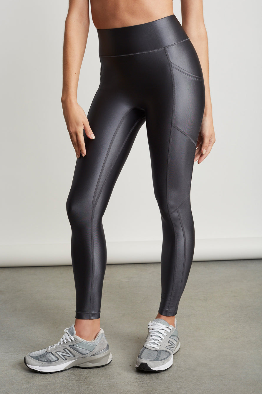 Center Stage Pocket Legging by All Access in All Shine Grey 1